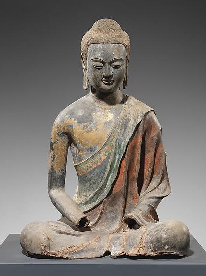 Buddha -Probably Amitabha (Amituofo) DP170964