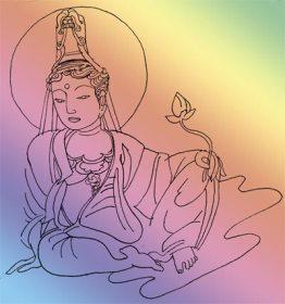 Bodhisattva © Marcelle Hanselaar