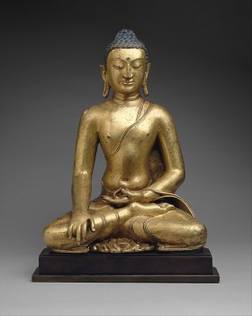Buddha Shakyamuni or Akshobhya, the Buddha of the East, Tibet, 11th–12th century © The Metropolitan Museum of Art