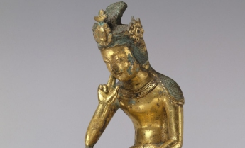 Pensive bodhisattva, Korea, mid-7th century © Metropolitan Museum of Art.