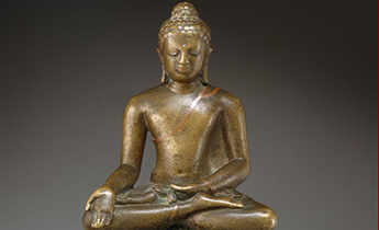 Seated Buddha, India, post Gupta period, later Sarnath style Date: late 6th–first half of the 7th century © The Metropolitan Museum of Art