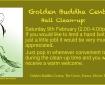 Golden Buddha Centre clean-up